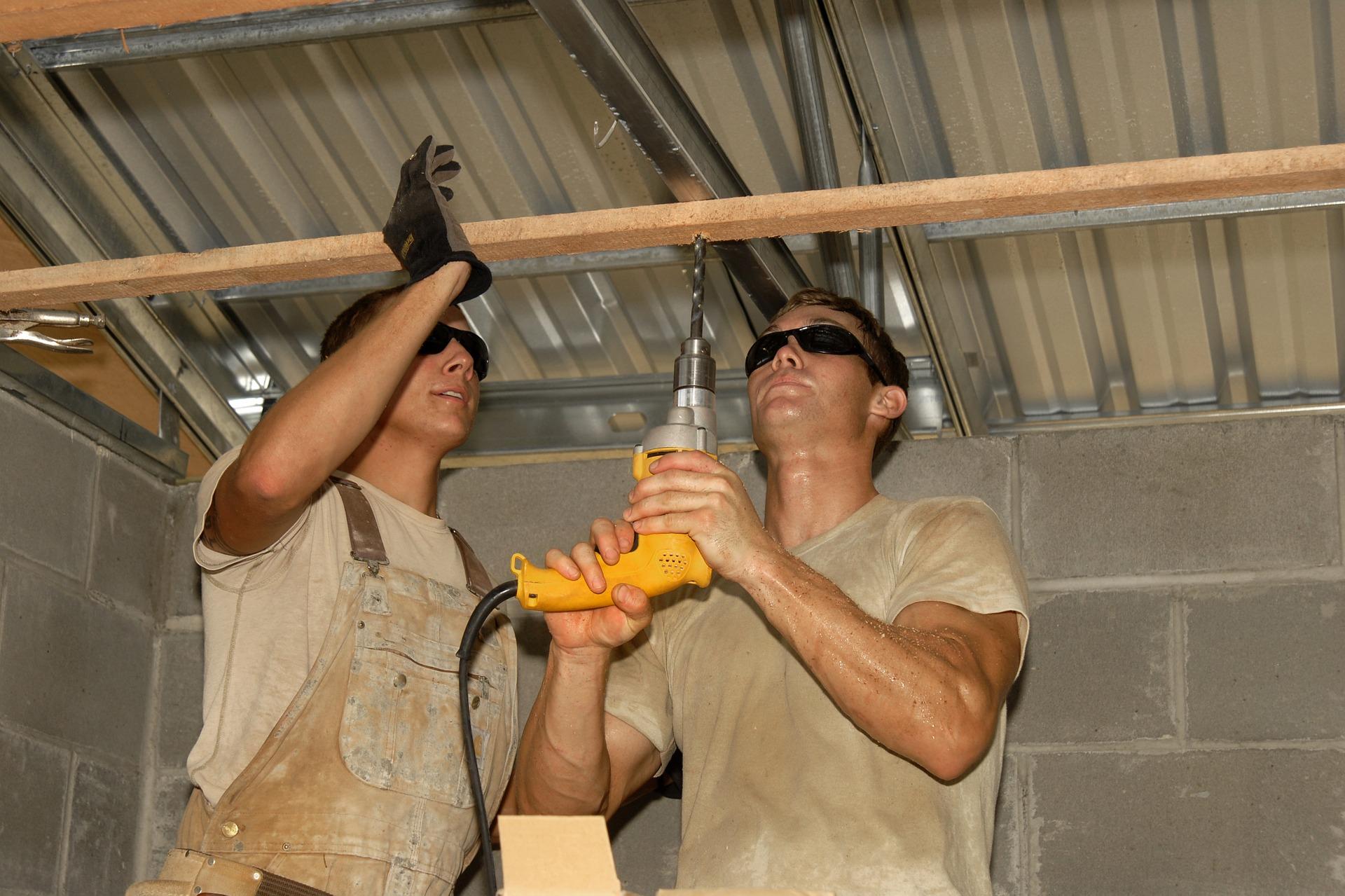 Jakie prace budowlane można wykonać zimą? Budowa domu.